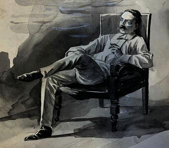 George Fort Gibbs, 'Quay's Favorite Attitude', 1894