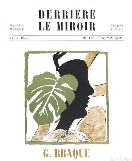 Georges Braque, 'Derriere Le Miroir, no. 4', 1947