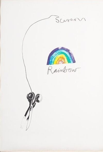 Jim Dine, 'Rainbow Scissors', 1969
