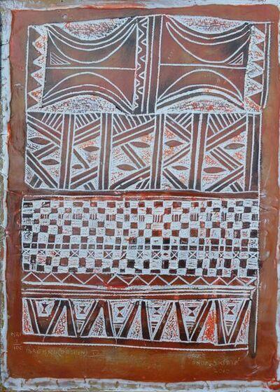 Bruce Onobrakpeya, 'Design (Ibrebru) IV', 2010