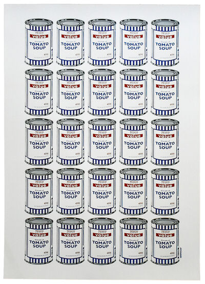 Banksy, 'SOUP CANS (Poster)', 2006