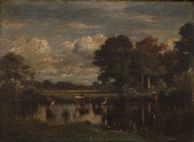 Jules Dupré, 'Cows Watering'