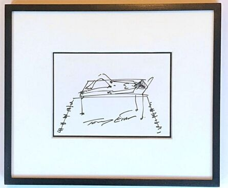 Tracey Emin, 'Untitled drawing (My Bed)', 2018