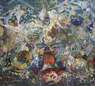 Joseph Stella, 'Battle of Lights, Coney Island, Mardi Gras', 1913-1913