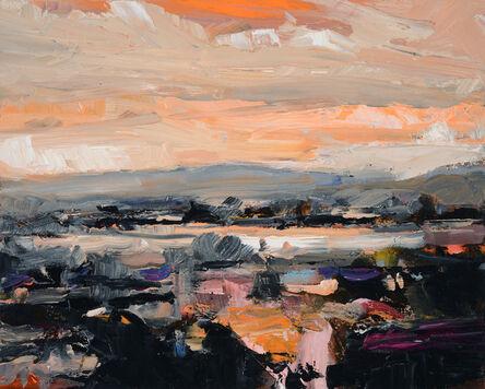 Simon Andrew, 'Ontario Landscape with Orange Sky', 2018