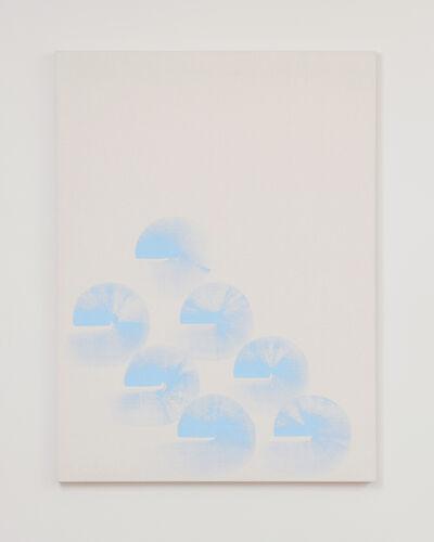Elvire Bonduelle, 'Untitled [Rotating Wave Paintings]', 2019