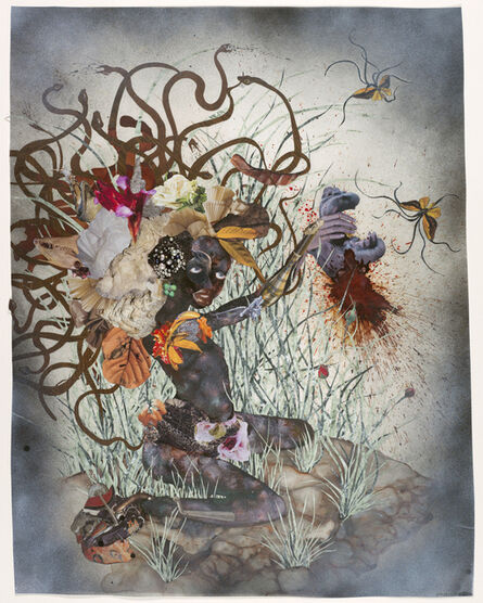 Wangechi Mutu, 'The Bride Who Married a Camel's Head', 2009