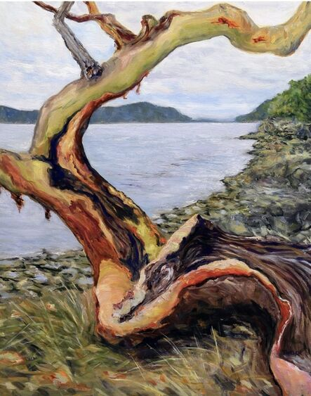 Terrill Welch, 'Arbutus Entertaining A Grey Day', 2020