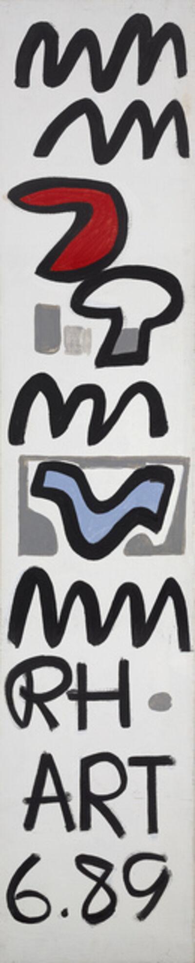 Raymond Hendler, 'RH 6.89', 1989