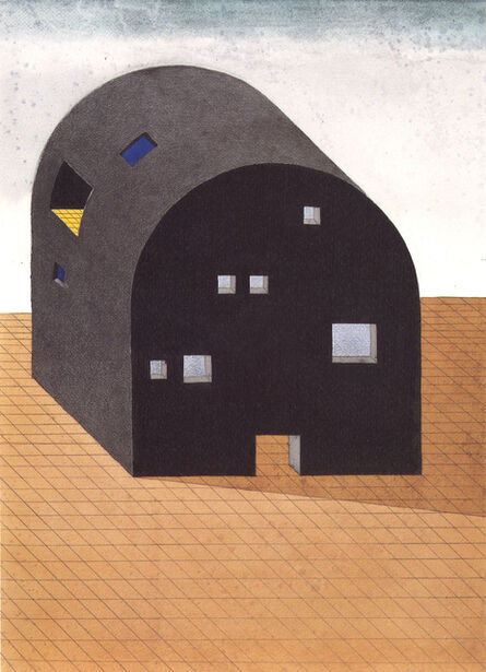 Ettore Sottsass, 'Architettura Monumentale', 2002