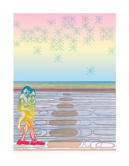 Libby Hague, 'RED SHOES, Arctic Grace', 2020