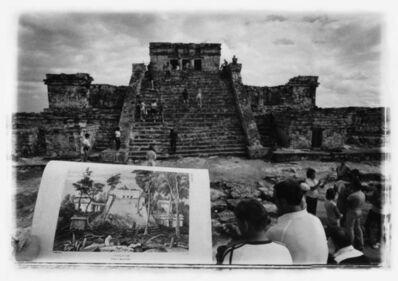 Leandro Katz, 'Tulúm, after Catherwood [The Castle], (Tulúm, a la manera de Catherwood) [El Castillo]', 1993