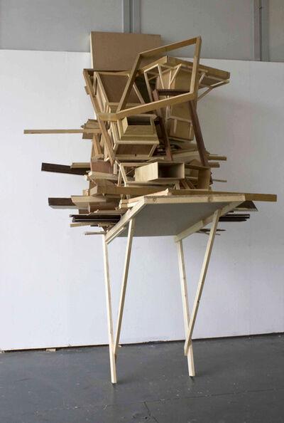 Jonas Wijtenburg, 'Pile in gutter socket', 2011