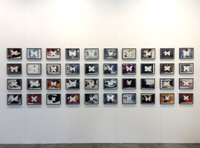 Jonathan Monk, 'Butterflies Cut Out And Encouraged To Fly Away', 2016
