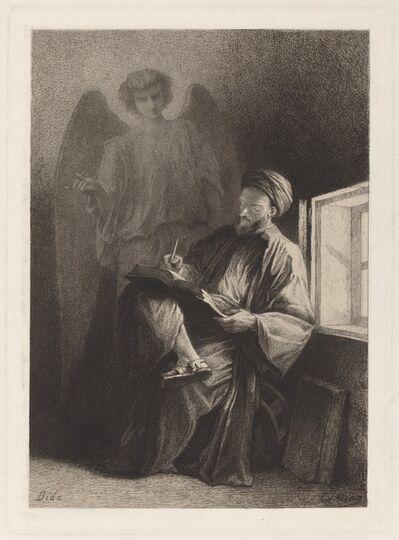 Edmond Hedouin after Alexandre Bida, 'Saint Matthew'