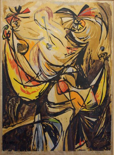 Seong Moy, 'Love in Flight', 1953