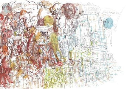 Ceren Oykut, 'Ceren Oykut_Inside the City Walls Series - Water', 2013