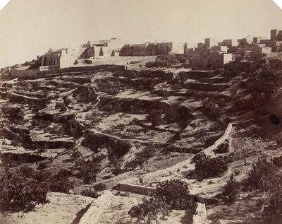 James Graham, 'Bath-lahem [sic] (Bethlehem), Palestine', 1856