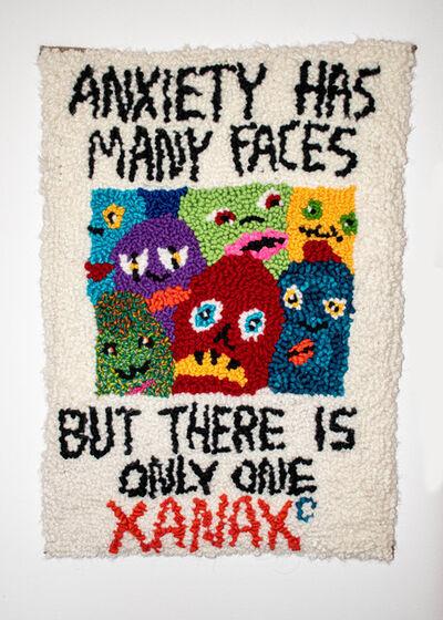 Megan Dominescu, 'Anxiety has many faces', 2020