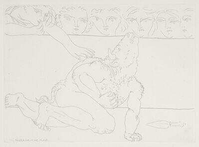 Pablo Picasso, 'Minotaure Mourant ', 1933