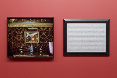 Sophie Calle, 'Purloined : Titian, The Rest on the Flight into Egypt / Tableaux dérobés : Titien, Le Repos pendant la fuite en Egypte', 1998-2013