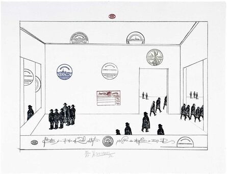 Saul Steinberg, 'The Museum', 1972