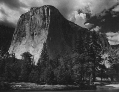 Ansel Adams, 'El Capitan and the Merced River, Yosemite National Park, CA', ca. 1930s