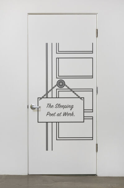 Shana Lutker, 'Sleeping Poet', 2015