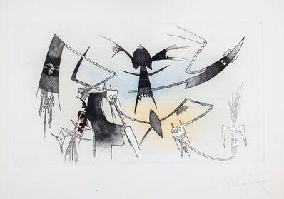 Wifredo Lam, 'La reunion', 1971