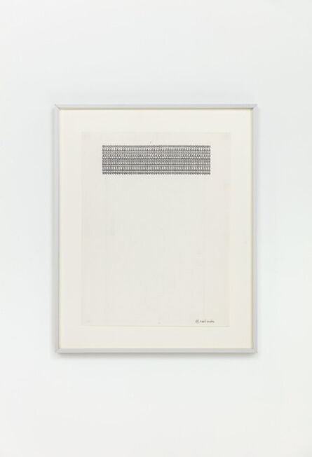 Carl Andre, '000000000000000000000000000000000000000000000000000000000000', 1958-1963