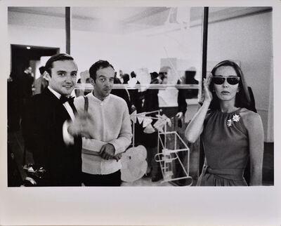 Julian Wasser, 'Dennis Hopper, Taylor Mead and Brooke Hayward (Hopper), Duchamp Retrospective, Pasadena Art Museum', 1963