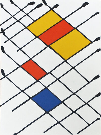 Alexander Calder, 'Derrière le Miroir 156 A', 1966