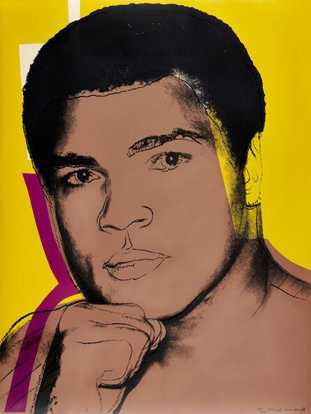Andy Warhol, 'Muhammad Ali (F. & S. 182)', 1978