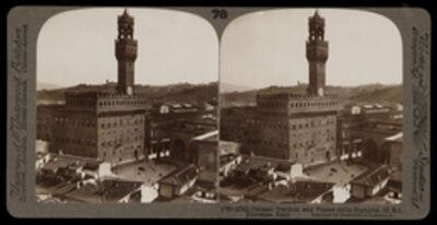 Bert Underwood, 'Palazzo Vecchio and Palazzo della Signoria, Florence', 1900