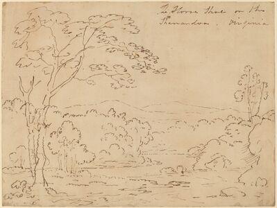Joshua Shaw, 'The Horse Shoe on the Shanandoa (sic), Virginia', 1820s