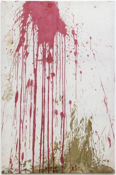 Hermann Nitsch, 'Relikt aus der 122. Aktion, Burgtheater 2005, überschüttet', 2013