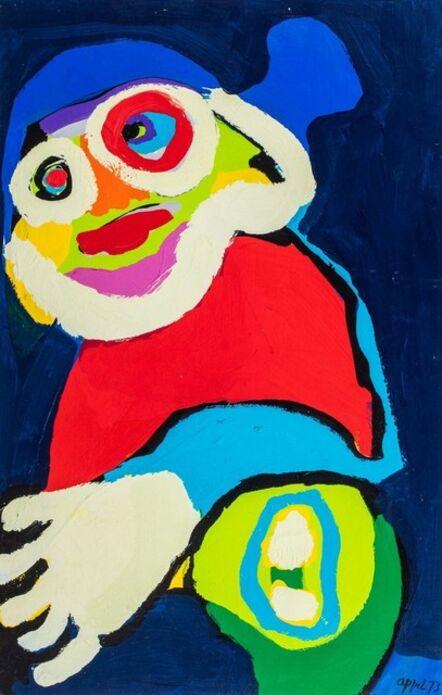 Karel Appel, 'Clown', 1973