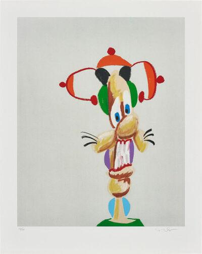 George Condo, 'Electric Harlequin', 2000