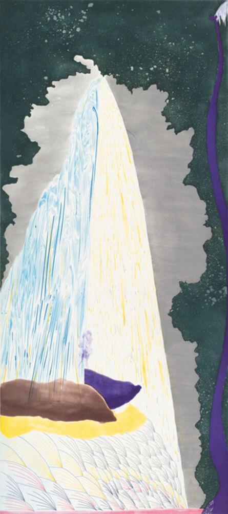 Chris Ofili, 'Last Night, New Day', 2008