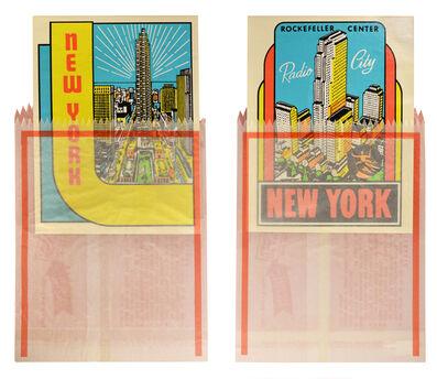 Joe Tilson RA, 'Joe Tilson, New York Decals 3 and 4, two screenprints in colours, 1967', 1967
