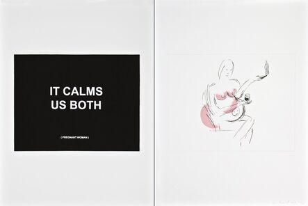 Laure Prouvost, 'It calms us both - 2', 2013