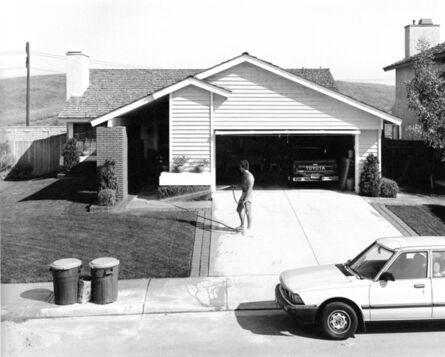 Joe Deal, 'Watering Phillips Ranch, California', 1983