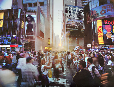 Jerry Spagnoli, 'Times Square Solstice, NY', 2008