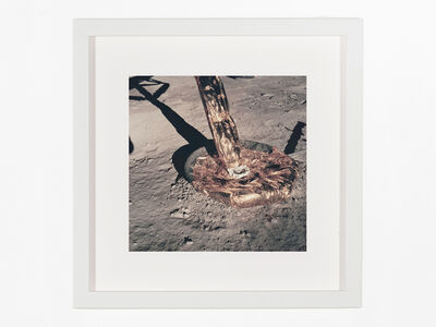 Neil Armstrong, 'Close-up of the lunar module east footpad', 1969