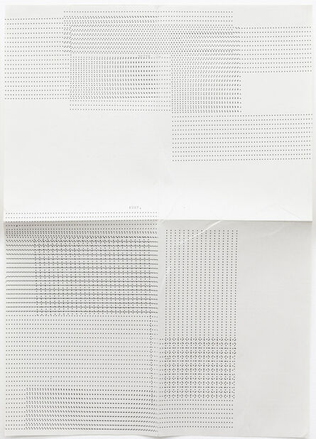Sue Tompkins, 'Untitled (Text reads: Away)', 2012