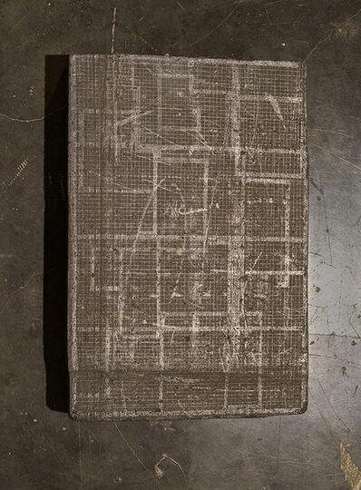 Hemali Bhuta, 'Graphite drawing on graphite block', 2016