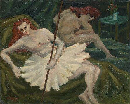 Giuseppe Migneco, 'Ballerine', 1940