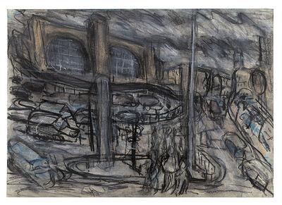 Leon Kossoff, 'King's Cross Stormy Day no. 4', 2004