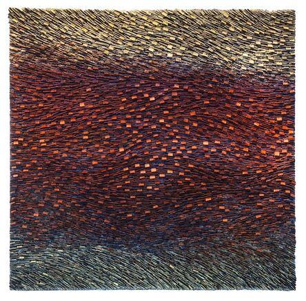 Pat McNabb Martin, 'Copper Layered Strata'