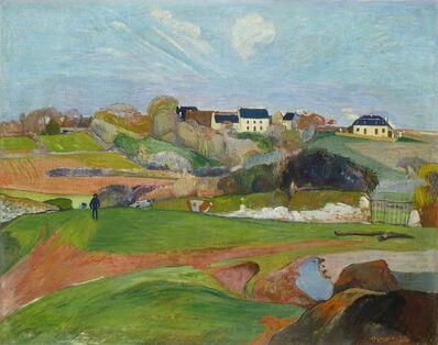 Paul Gauguin, 'Landscape at Le Pouldu', 1890